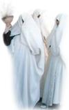 libyan women in disguise
