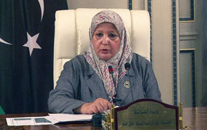 photo of libyan minister of tourism