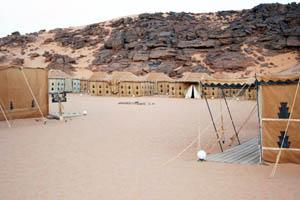 adad campsite in Acacus, Fezzan