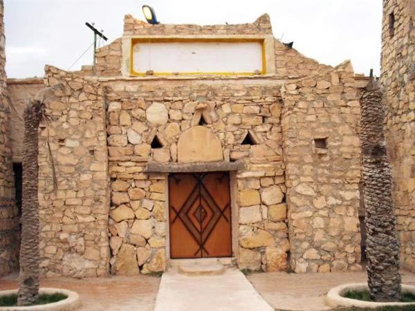 entrance to albarouni museum