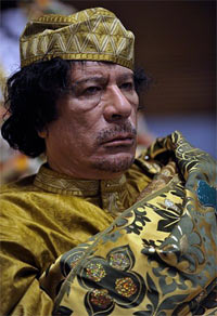 gaddafi in 2009