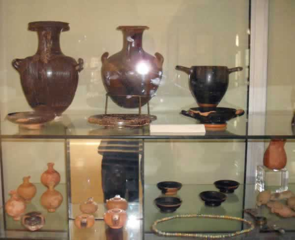 Pottery at Leptis Magna Museum