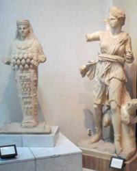 Statue from Assaraya Alhamra Museum in Tripoli