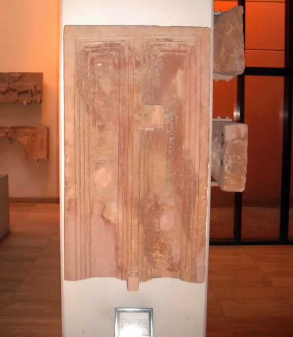 funerary door from Ghirza at Tripoli Museum