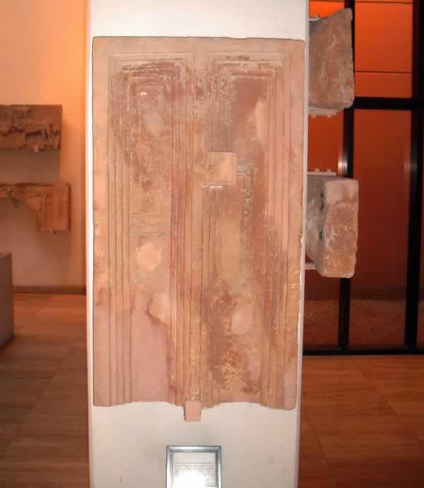funerary door from Ghirza.