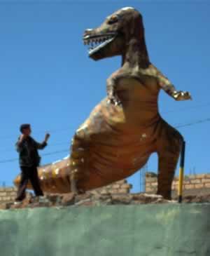 dinosaur bone carbon dating
