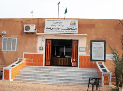 germa museum, fezzan, south Libya