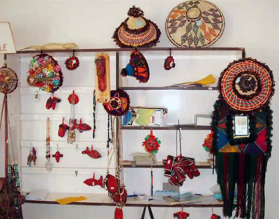 traditional straw crafts from ghadames museum