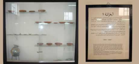 case of exhibits & text