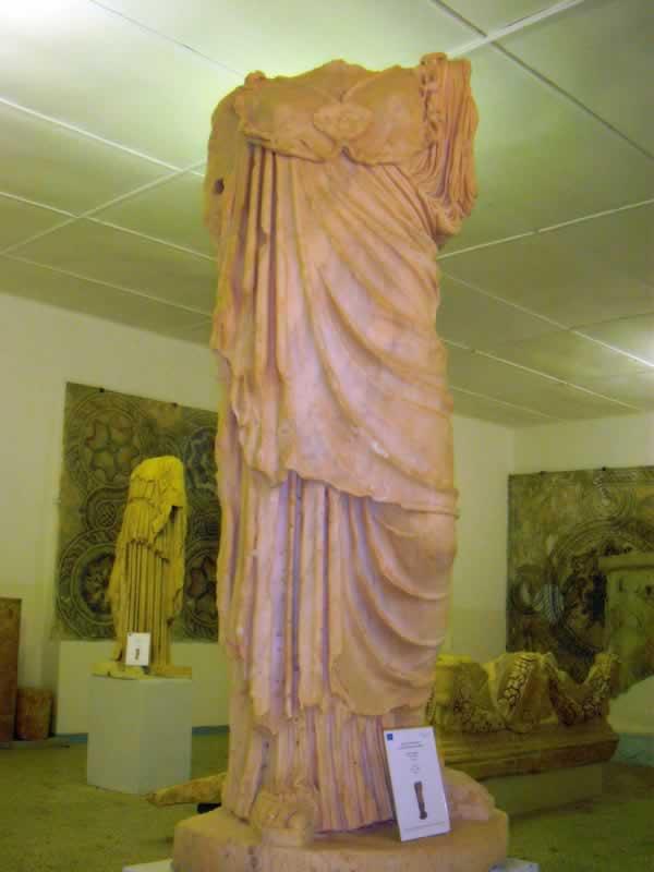 headless Goddess Athena