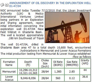new oil discovery