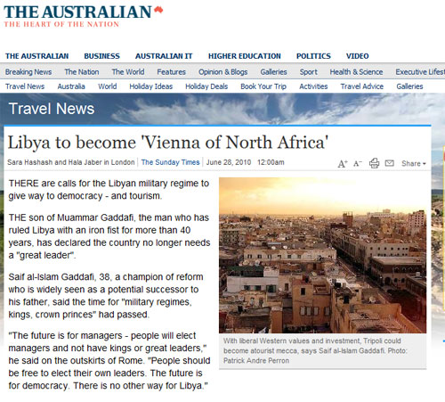 Libya to become the vienna of North Africa