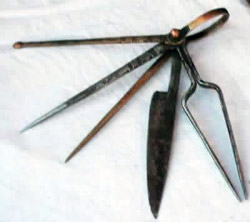 Tuareg multi tool or  Swiss Knife