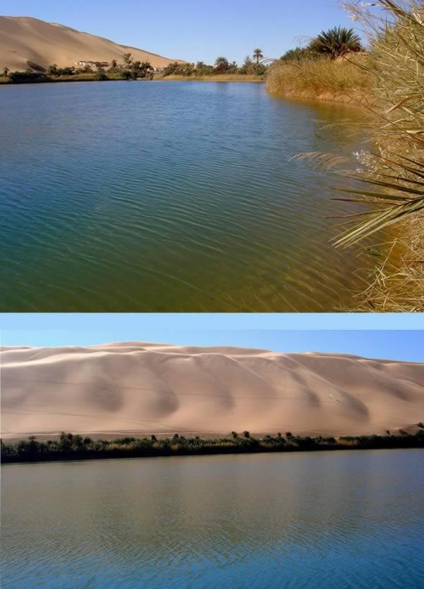 أم ماء بحيرة، ليبيا