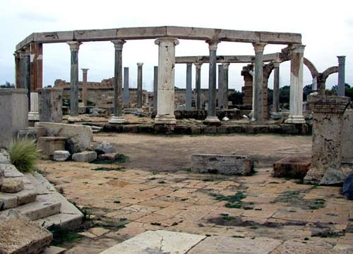 the circular ancient market