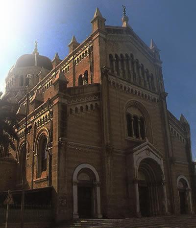 the Algerian Square Church