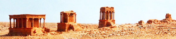 Ghirza Libya an archaeological site