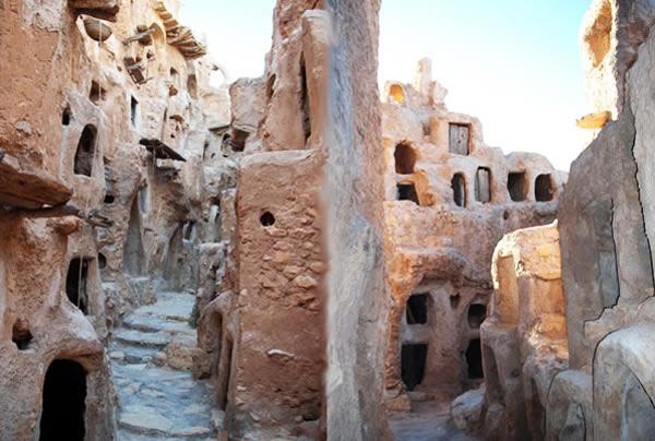 Berber granary castle in nalut
