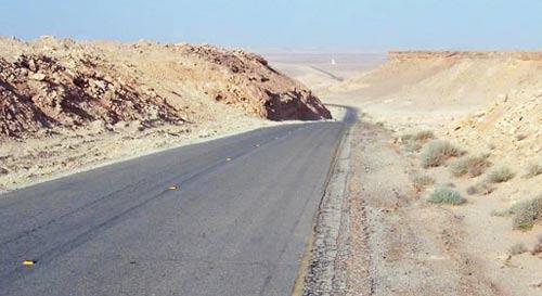 mountain tarmac road