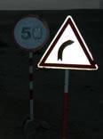 road sign in Libya
