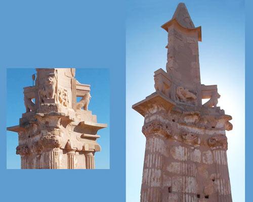 Bes Mausoleum at Sabratha