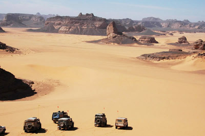The Libyan Sahara Desert