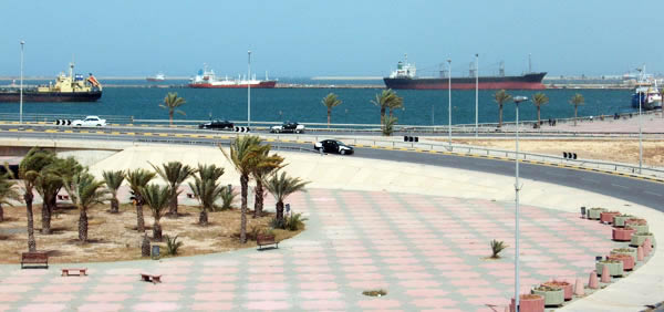 seaport Tripoli Libya