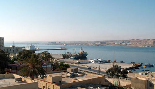 Tobruk view over the sea