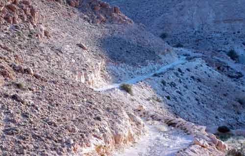 a side track, nafousa mountains