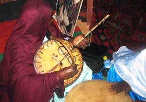 imzad: tuareg one-string instrument