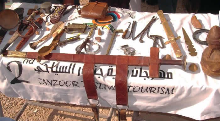 Jewellery Stall at Janzur Festival