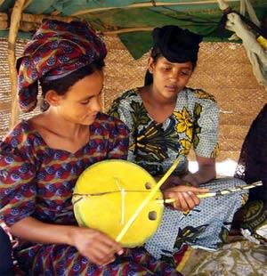 the Tuareg imzad: a one string instrument