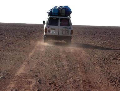 Daraj Idri desert route