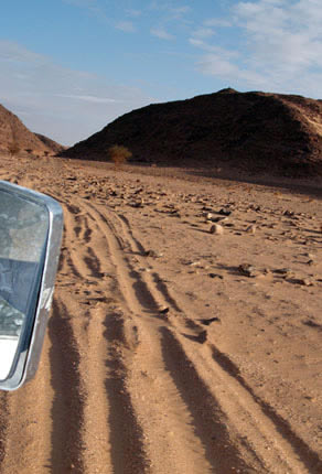 Derj Idri desert route