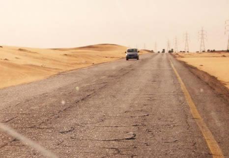 Idri-Brak-tarmac-road