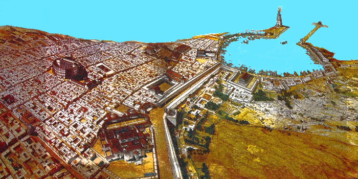 Leptis Magna Reconstructed
