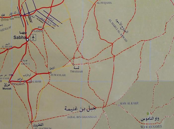 Sabha Waw En-namous road map