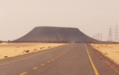 Sabha Germa Road Libya
