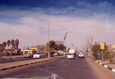 a road in Sabha