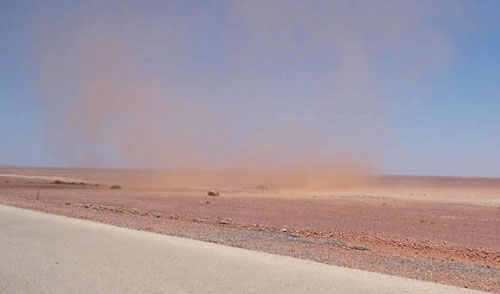 sand tornado