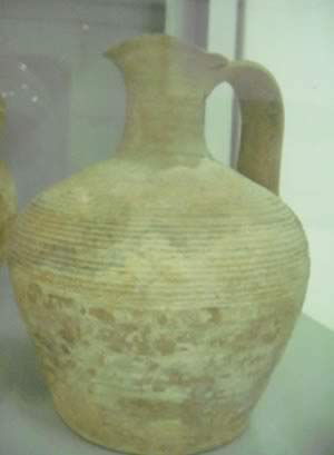 large clay jar or pitcher