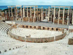 roman theater from Leptis