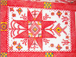 traditional Berber cross design from the oasis of Ghadames in Libya
