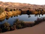 Ubari lake