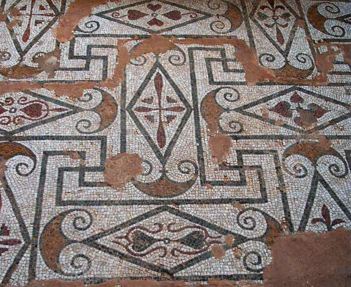 fantastic geometrical and mathematical mosaic designs
