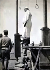 the hanging of Omar Mokhtar