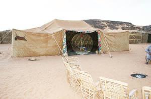 Adad campsite in acacus