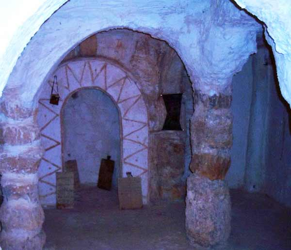 archs inside the building