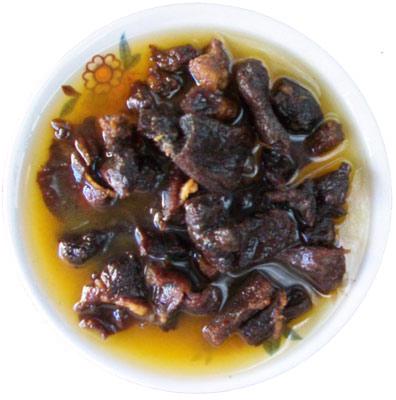 ikerkoushen - dried meat cubes fried in oil