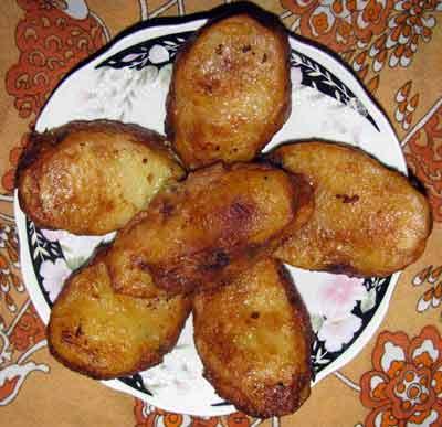 stuffed potatoes ready to eat